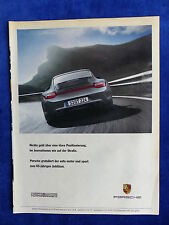 Porsche 911 Carrera 4 GTS - Werbeanzeige Reklame Advertisement 2011 __ (177