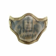 PAINTBALL BRAND NEW  Valken 2G Wire Mesh Tactical Airsoft Mask - Tan Skull