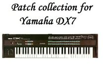 Yamaha DX7 Patches - Sysex files for DX7, TX7, TX802, TX812, TX816  + pdf files