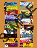 Elvis Presley Jukebox Title Strips Vol.2-More Big Hits!