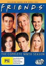 Friends : Series 9 (DVD, 2006, 4-Disc Set)
