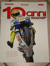 LIBRO BOOK FOTOGRAFICO N° 4 10 ANNI DI MOTO GP MOTOGP 2008 2009 VALENTINO ROSSI