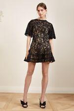 Keepsake the Label Black Lace Dress Dreamers Mini Cocktail size small