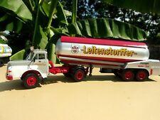 MAN 19.240 Hauber Camion Semi Remorque Citerne  1/43 Neuf