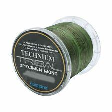 (0,05€/m) Shimano Technium Tribal Specimen Mono Karpfen Angelschnur 0,30mm 1074m