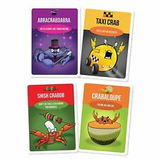 You've Got Crabs Exploding Kittens Board Game