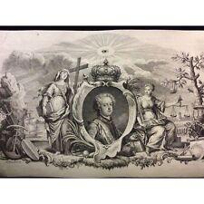 Louis XV Vanloo L'oeil de la providence GUÉLARD Antoine Humblot France
