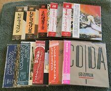 Led Zeppelin * Japan MIni LP CD * Complete 2nd Edition Set * 2003 WPCR-11611/22