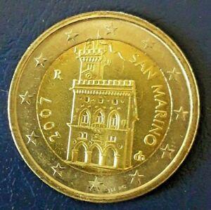 2 EURO SAINT MARIN 2007  DU COFFRET BU