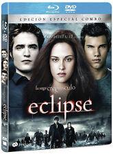 PELICULA BLURAY+DVD CREPUSCULO 3: ECLIPSE EDICION ESPECIAL COMBO