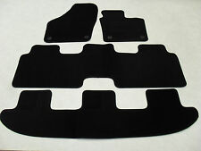 VW Sharan (4 Piece) 2010-on Fully Tailored Deluxe Car Mats in Black.
