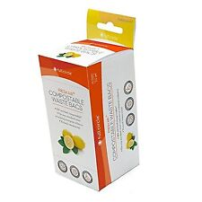 Full Circle Lemon Scented Fresh Air Compostable Waste Bags for Compost Collector