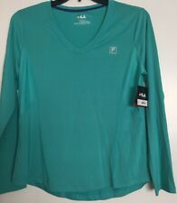 Nwt! Womens Fila Active Top Sz Large ~ Free Shipping ~