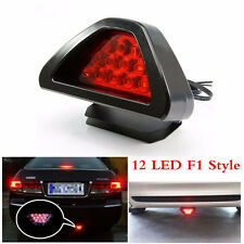 High Power F1 Style 12LED Red Auto Car 3rd Third Rear Tail Brake Light Stop Lamp