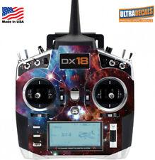 Space Nebulous Spektrum DX18 Transmitter Skin Wrap Decal Radio
