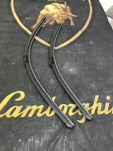 LAMBORGHINI AVENTADOR LP700 720 750 WINDSHIELD WIPER BLADE SET LEFT RIGHT OEM