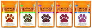Pet Munchies Natural Dog Training Treats 50g Healthy 100% Meat Jerky Low Fat