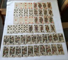 FERDINAND PIATNIK Original Wien Spielkarten 54 Karten Antik Vintage