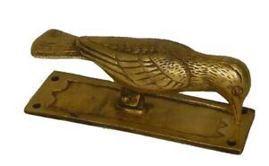 Bird Design Antique Vintage Style Handmade Brass Door Knocker Home Decor R211
