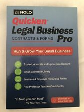 Nolo Quicken Legal Business Pro Contracts & Forms