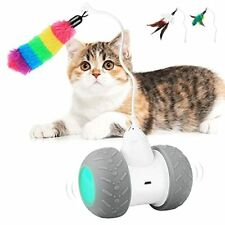 Interactive Cat Toy Robotic Automatic Kitten Toy Robot Ball Usb Charging 2000.
