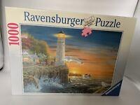 RAVENSBURGER JIGSAW PUZZLE 1000 PIECE Seaside Lighthouse Sea  NEW & SEALED