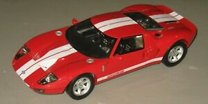 """Motor Max 1/12 Scale Diecast 73001 - Red Ford GT Concept Toy Car 16"""" long"""