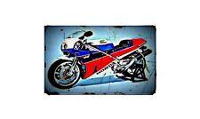 1990 honda rc30 Bike Motorcycle A4 Photo Poster