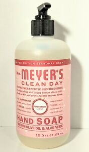 Mrs Meyer's  PEPPERMINT Hand Soap 12.5 fl oz - Limited Edition