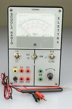 Tester Elettrico Analogico Scuola Radio Elettra Torino 1970s