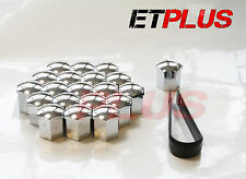 20 x Chrome wheel nut bolt covers Ford Mondeo CMAX Cougar KUGA