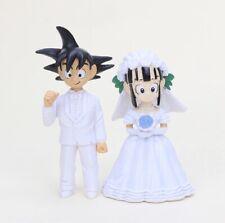 Dragon Ball Z Son Goku ChiChi Hochzeit Figur 7cm Anime Manga Neu