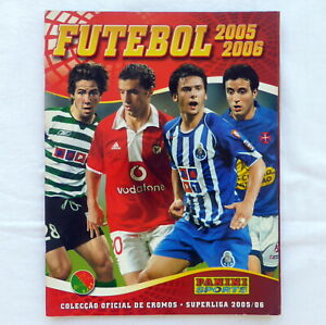 FOOTBALL PORTUGUESE CHAMPIONSHIP empty PANINI sticker album 2005-2006
