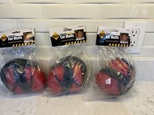 NEW Western Safety Unisex Adult Noise Reducing Industrial Ear Muffs Red One Size