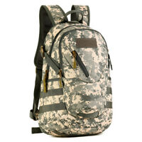 20L Military Brown Camo MOLLE Backpack Tactical Assault Pack Student School Bags