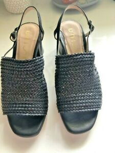 UNISA BLACK MAELA SANDALS SIZE 40 WORN A FEW TIMES AS NEW FROM ZOMP