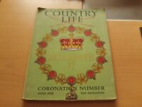 Country Life Elizabeth II Coronation Number June 1953 Large Illustrated Magazine
