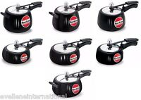 Hawkins  Pressure Cookers  Contura Black  Indian Cooker   Choose From 7