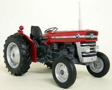 UH 1/16 Scale 2698 Massey Ferguson 135 Red Vintage diecast model Tractor