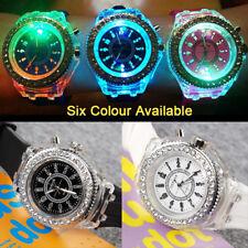 Boy Girls Unisex Digital LED Watch Wrist Sport Watches Flash Backlit Quartz Kids