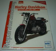 Reparaturanleitung Harley Davidson Sportster 883 / 1100 / 1200 ab 1986 - 1992!