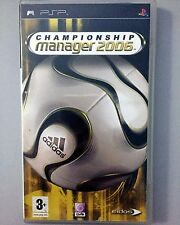 Championship Manager 2006 (+BOOK) PSP Playstation Portable UMD Soccer Video Game