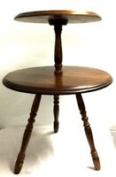 Vintage Table 2 Tier Chair Table True Vintage