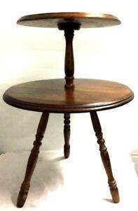 Vintage Table 2 Tier Chair Table True Vintage