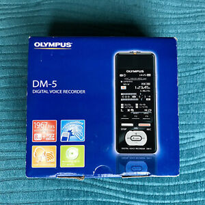 Olympus DM-5 voice recorder Dictaphone