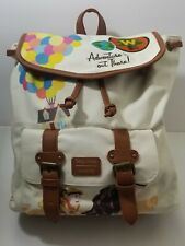 Disney Pixar Up Loungefly Canvas Backpack D23 Limited Edition Rucksack