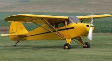 Piper PA-15 Vagabond Personal Aircraft Mahogany Wood Model Small New