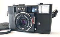 DHL [ N MINT++ ] Konica C35 AF 35mm Film Camera 38mm F/2.8 Lens From JAPAN #1260