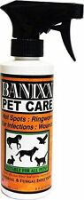 Banixx Pet Wound Skin Care Anti-Bacterial Fungal Infection Hot Spots Dogs 8 oz