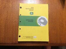 John Deere 4700 Self Propelled Sprayer OMN200684 Operators Manual book
